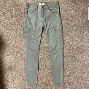 Cabi light green jeans